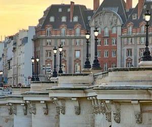 france, paris, and bridge image
