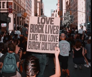 humanity, love, and protest image