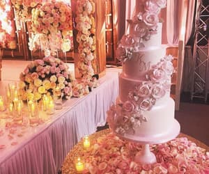 roses, cake, wedding cake and rose