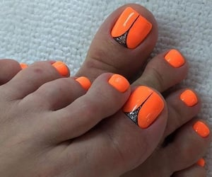 fashion, fashionable, and pedicure image