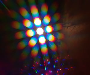 bright, ray, and colorful image