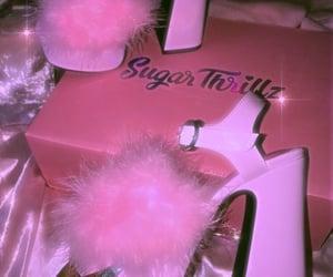 fashion, pink shoes, and kawaii image