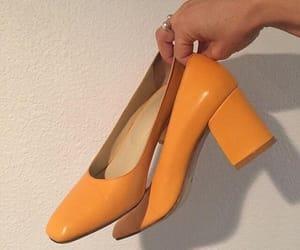 orange, aesthetic, and shoes image