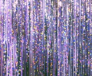 glitter, aesthetic, and purple image