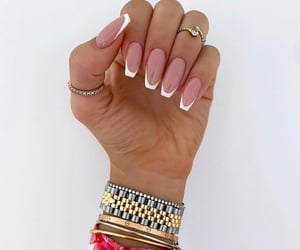 cartier, french, and nails image
