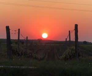 Croatia, sun, and sunset image