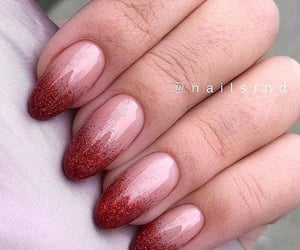 fashion, long nails, and acrylic manicure image