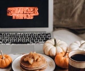 fall, autumn, and stranger things image