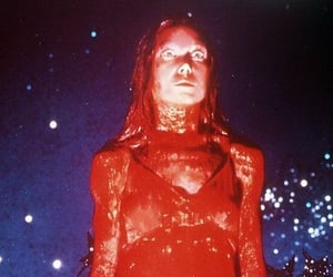 carrie, horror, and movie image