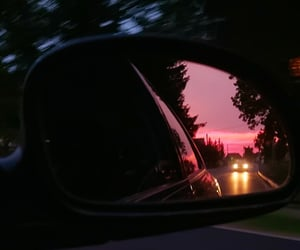 aesthetic, car view, and drive image