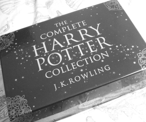 harry potter, jk rowling, and book image