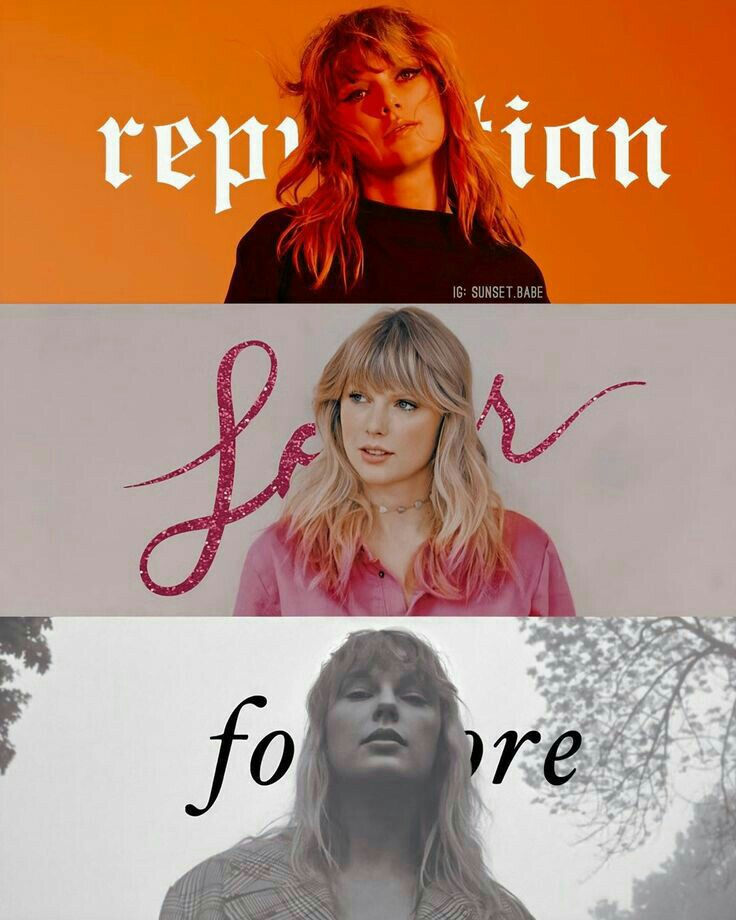 folklore, lover, and Reputation image