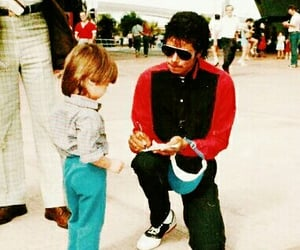 80's, king, and king of pop image