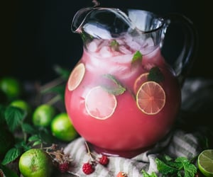 berry, beverage, and cocktail image