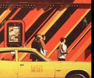 70s, car, and orange image