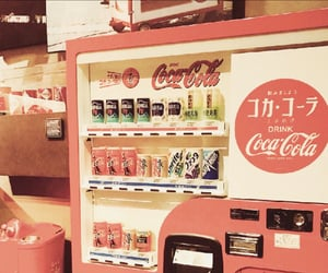 coca cola, retro, and yellow image