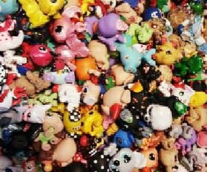figurines, lps, and toys image