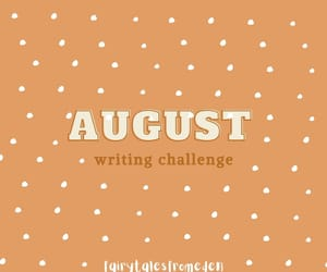2020, August, and august writing challenge image