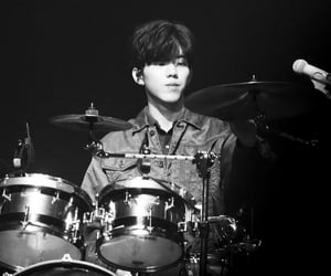 black and white, day6, and yoon dowoon image