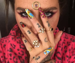 nails, celebrities, and kesha image