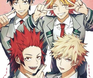 anime, kirishima, and my hero academia image