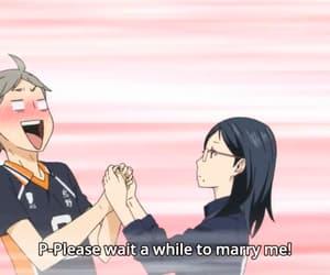 anime, karasuno, and sugawara image
