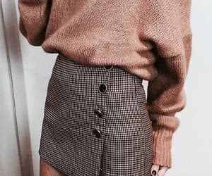 autumn, outfit, and plaids image