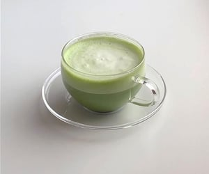 drink, matcha, and green image