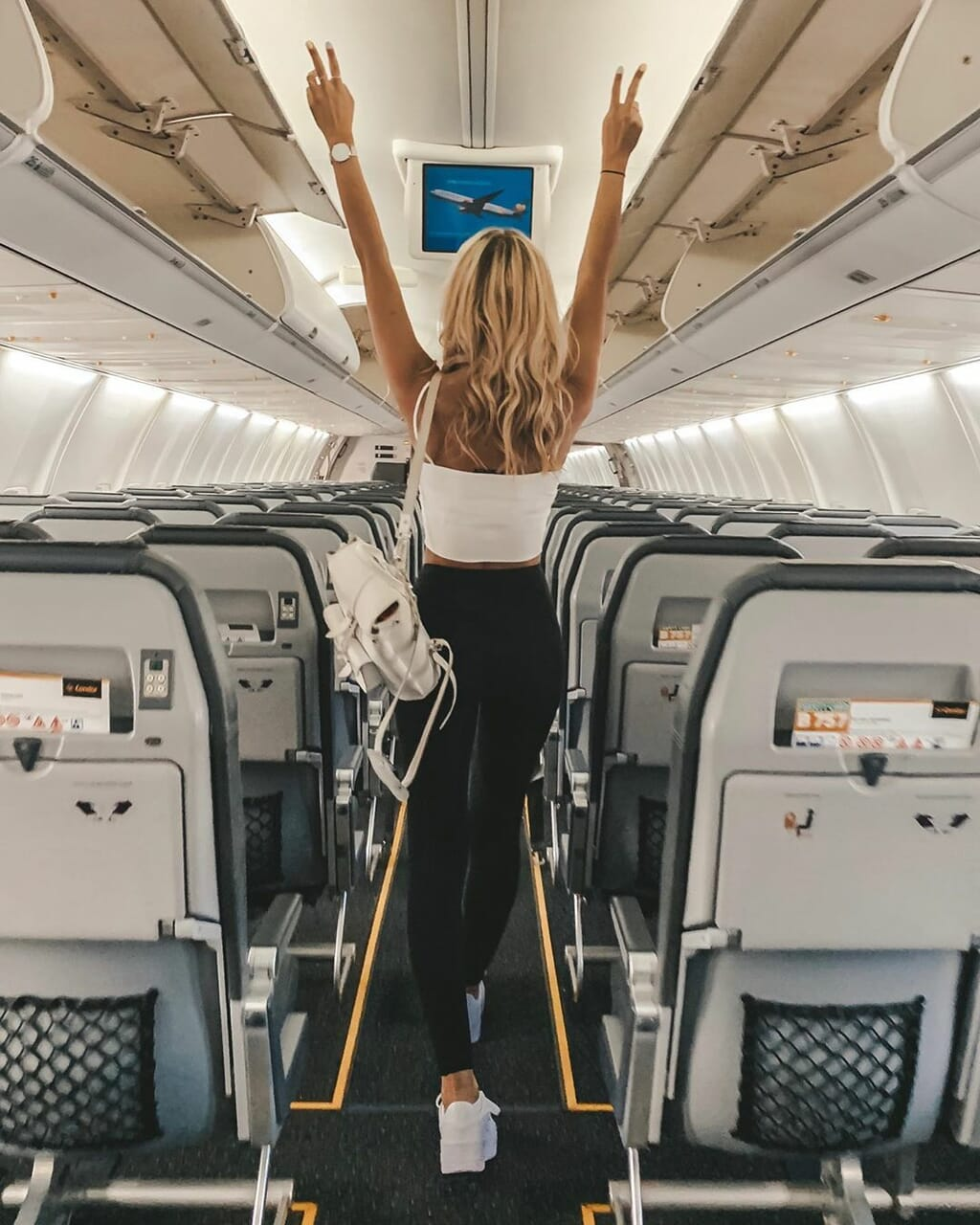fashion, plane, and sneakers image