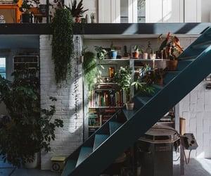 aesthetics, bookshelves, and home decor image