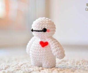 color, crochet, and cute image