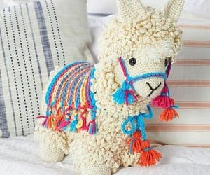 color, crochet, and amimal image