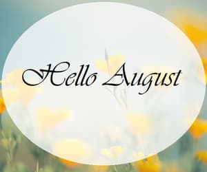 August, flowers, and meadow image