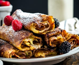 crepes and food image