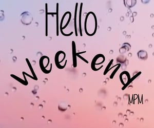 hello, saturday, and pink image