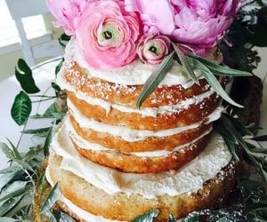 banana cake, bananas, and birthday image