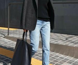 bag, winter, and fashion image