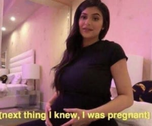 mood, pregnancy, and kylie jenner image