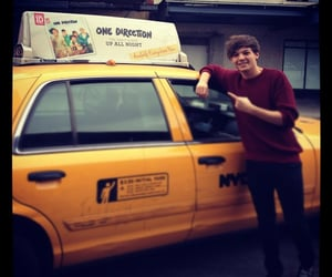 2012, taxi, and one direction image