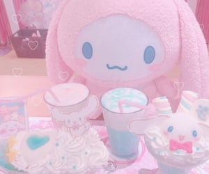 aesthetic, pink, and cute image