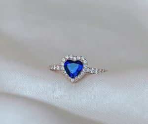 accessories, beauty, and blue image