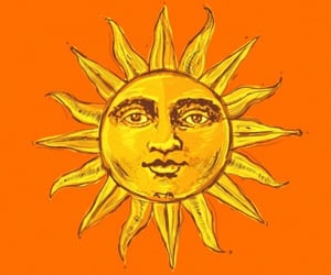 sun, wallpaper, and lockscreen image