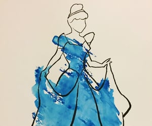 art, cinderella, and colours image