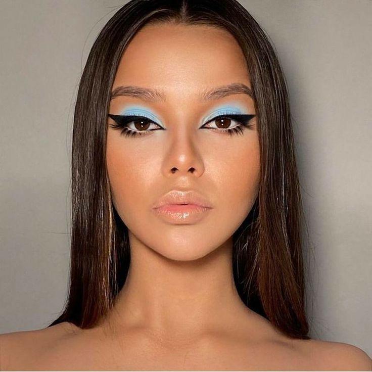 fashion, girl, and make up image