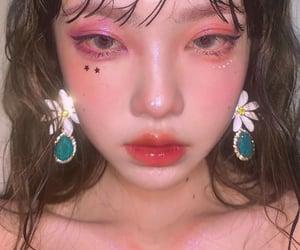 glam, make up, and glitter image