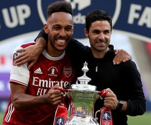 Arsenal, mikel arteta, and pierre-emerick aubameyang image