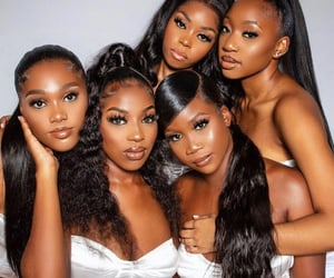 beautiful, best friends, and black beauty image