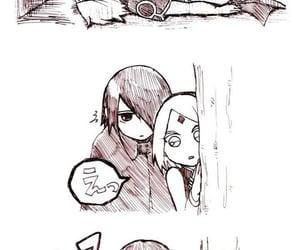 anime, couple, and wallpaper image