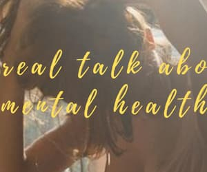 banner, mental health, and self-love image