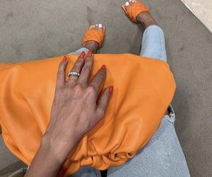 bag, bottega veneta, and heels image